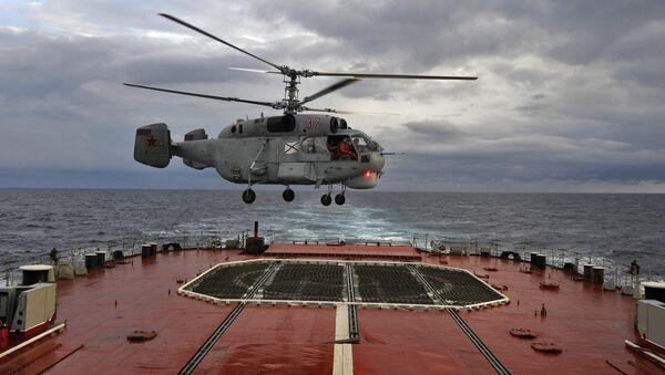 Trực thăng hải quân đa năng Ka-27.  - Sputnik Việt Nam