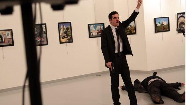 Tên khủng bố tấn công Đại sứ Nga tại Ankara - Sputnik Việt Nam
