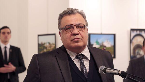 Vụ ám sát đại sứ LB Nga tại Thổ Nhĩ Kỳ - Sputnik Việt Nam