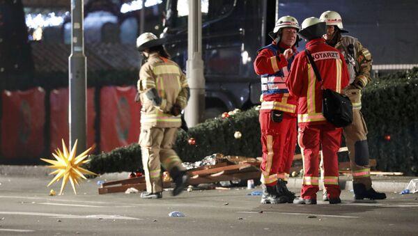 vụ khủng bố ở Berlin - Sputnik Việt Nam