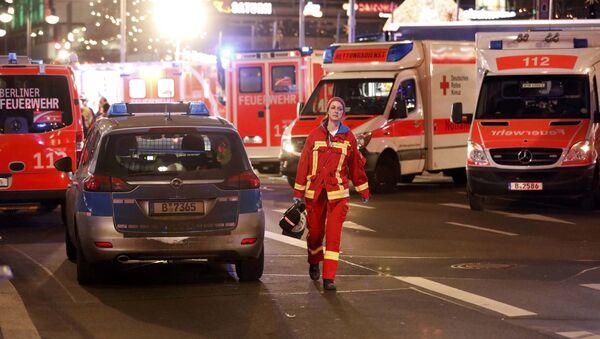 vụ tấn công khủng bố ở Berlin - Sputnik Việt Nam