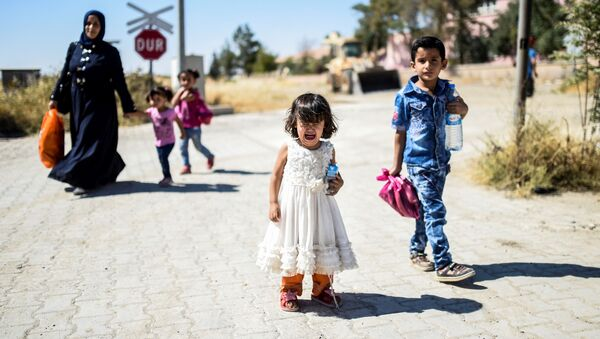 cư dân Syria - Sputnik Việt Nam