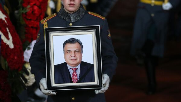 Thi hài của Đại sứ Nga tại Thổ Nhĩ Kỳ Andrei Karlov đã về đến Nga - Sputnik Việt Nam