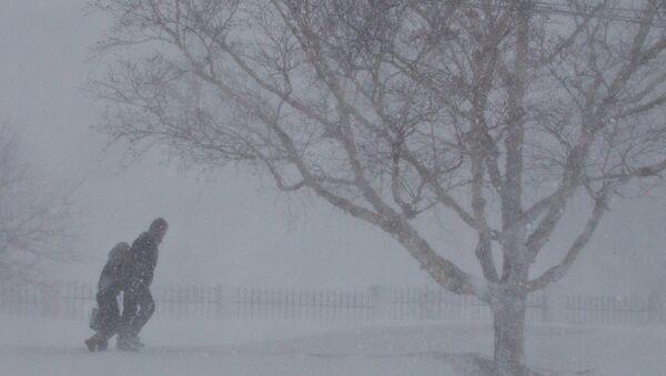 Tuyết ở Yuzhno-Sakhalinsk - Sputnik Việt Nam