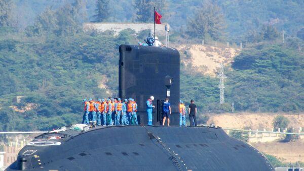 """Tàu ngầm Việt Nam đầu tiên lớp Kilo 636 mang tên """"Hà Nội"""" - Sputnik Việt Nam"""