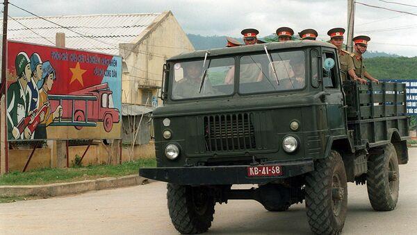 Bộ đội Việt Nam ở tỉnh Lai Châu - Sputnik Việt Nam