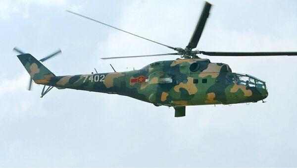 Máy bay trực thăng MI-24A của Không quân Việt Nam - Sputnik Việt Nam