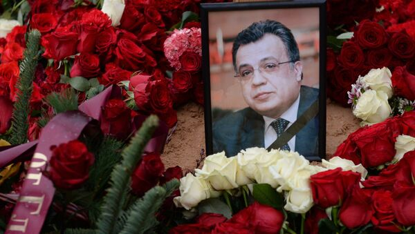 Lễ tang của Đại sứ Nga ở Thổ Nhĩ Kỳ Andrei Karlov - Sputnik Việt Nam