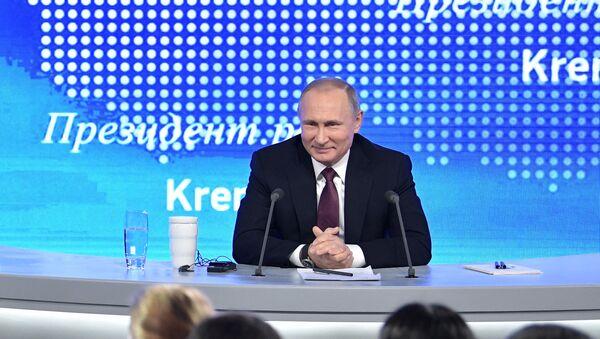 Tổng thống Putin nói rằng, thua cũng cần phải có tư cách - Sputnik Việt Nam