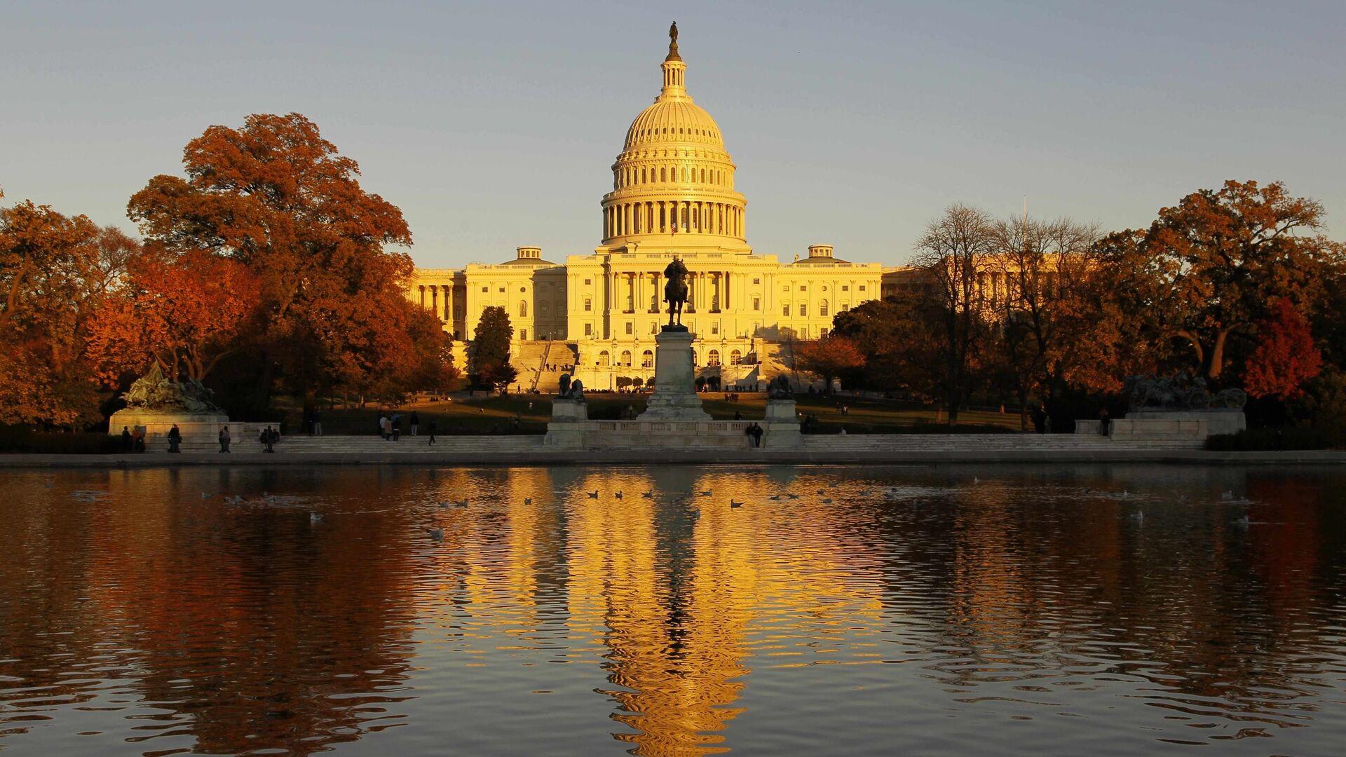 Quốc hội Mỹ - Sputnik Việt Nam, 1920, 08.10.2021