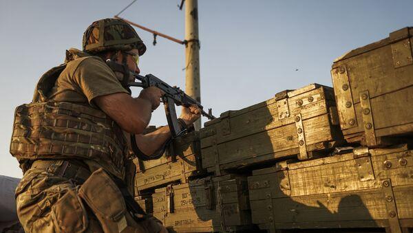 quân Ukraina ở DNR - Sputnik Việt Nam