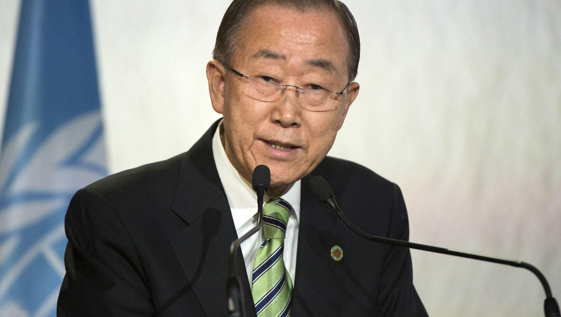 ông Ban Ki-moon  - Sputnik Việt Nam, 1920, 23.07.2021