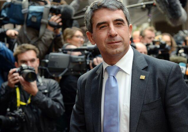 Tổng thống Bulgaria ông Rosen Plevneliev