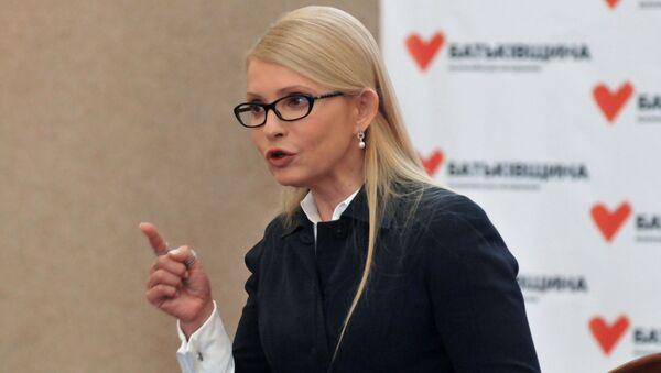 Nhà lãnh đạo của đảng chính trị Batkivshchina Yulia Tymoshenko - Sputnik Việt Nam
