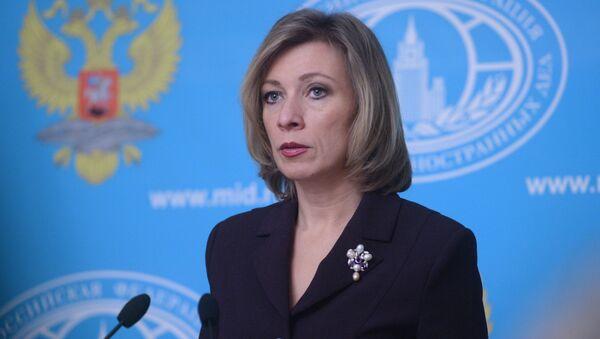 phát ngôn viên Bộ Ngoại Nga Maria Zakharova - Sputnik Việt Nam