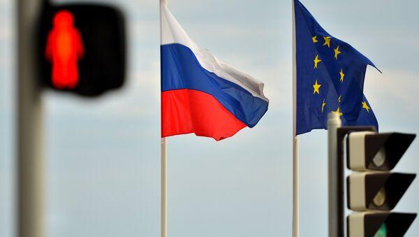 Quốc kỳ Nga, EU - Sputnik Việt Nam
