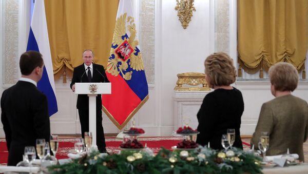 tiệc Năm mới trong điện Kremlin - Sputnik Việt Nam
