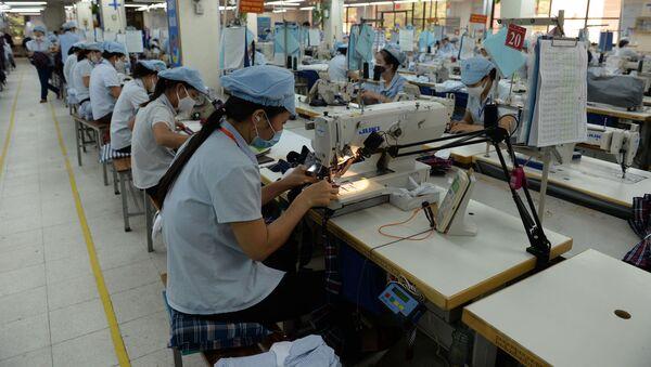 ngành công nghiệp dệt may Việt Nam - Sputnik Việt Nam