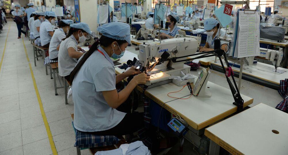 ngành công nghiệp dệt may Việt Nam
