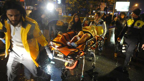 vụ tấn công tại Istanbul - Sputnik Việt Nam