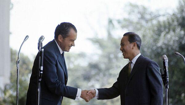 1969 Official Visit Of President Richard Nixon To Saigon - Sputnik Việt Nam