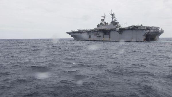 Универсальный десантный корабль Wasp ВМС США - Sputnik Việt Nam