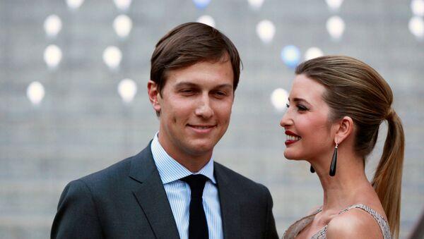 Jared Kushner và Ivanka Trump - Sputnik Việt Nam