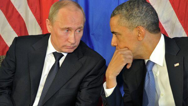 Vladimir Putin và Barack Obama - Sputnik Việt Nam