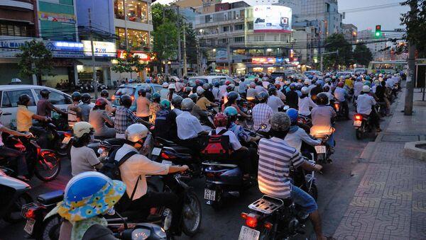 Ùn tắc giao thông ở Việt Nam - Sputnik Việt Nam