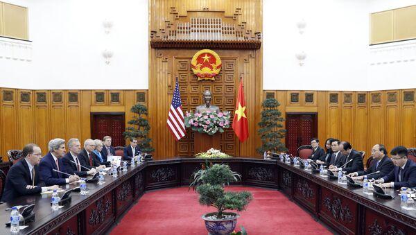 Chuyến thăm Việt Nam cuối cùng của Ngoại trưởng Mỹ John Kerry - Sputnik Việt Nam