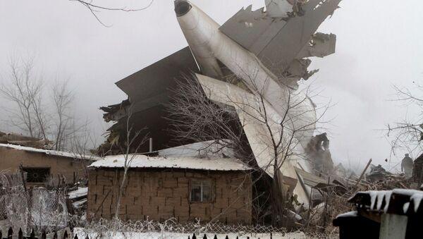 Tai nạn máy bay Boeing 747 của Thổ Nhĩ Kỳ xảy ra gần Bishkek - Sputnik Việt Nam