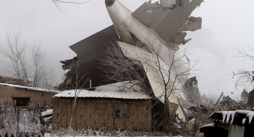 Tai nạn máy bay Boeing 747 của Thổ Nhĩ Kỳ xảy ra gần Bishkek