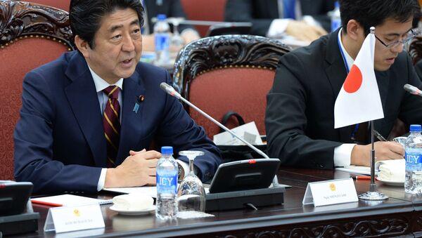 Thủ tướng Nhật Shinzo Abe - Sputnik Việt Nam