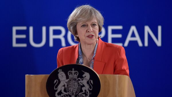 Theresa May - Sputnik Việt Nam