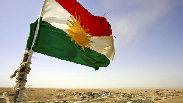 lá cờ Kurdistan, Iraq - Sputnik Việt Nam