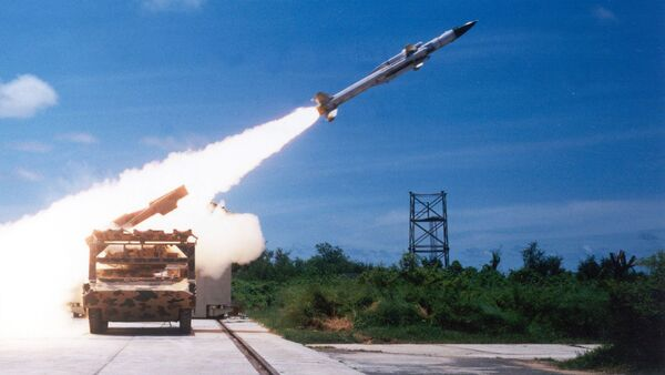 Tên lửa phòng không Ấn Độ Akash - Sputnik Việt Nam