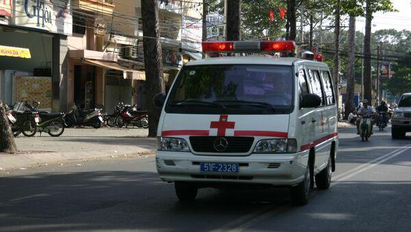 xe cấp cứu Việt Nam - Sputnik Việt Nam