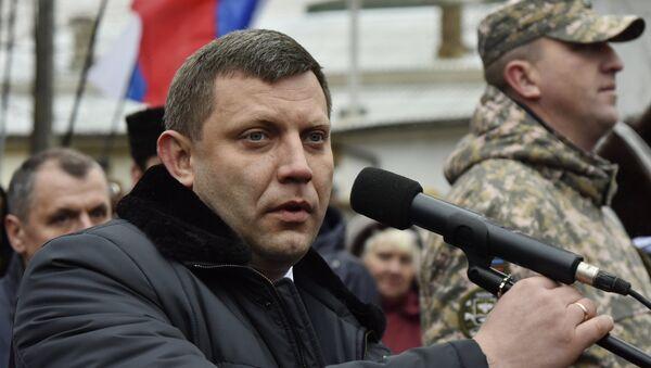 Người đứng đầu Cộng hòa nhân dân tự xưng Donetsk Alexander Zakharchenko - Sputnik Việt Nam