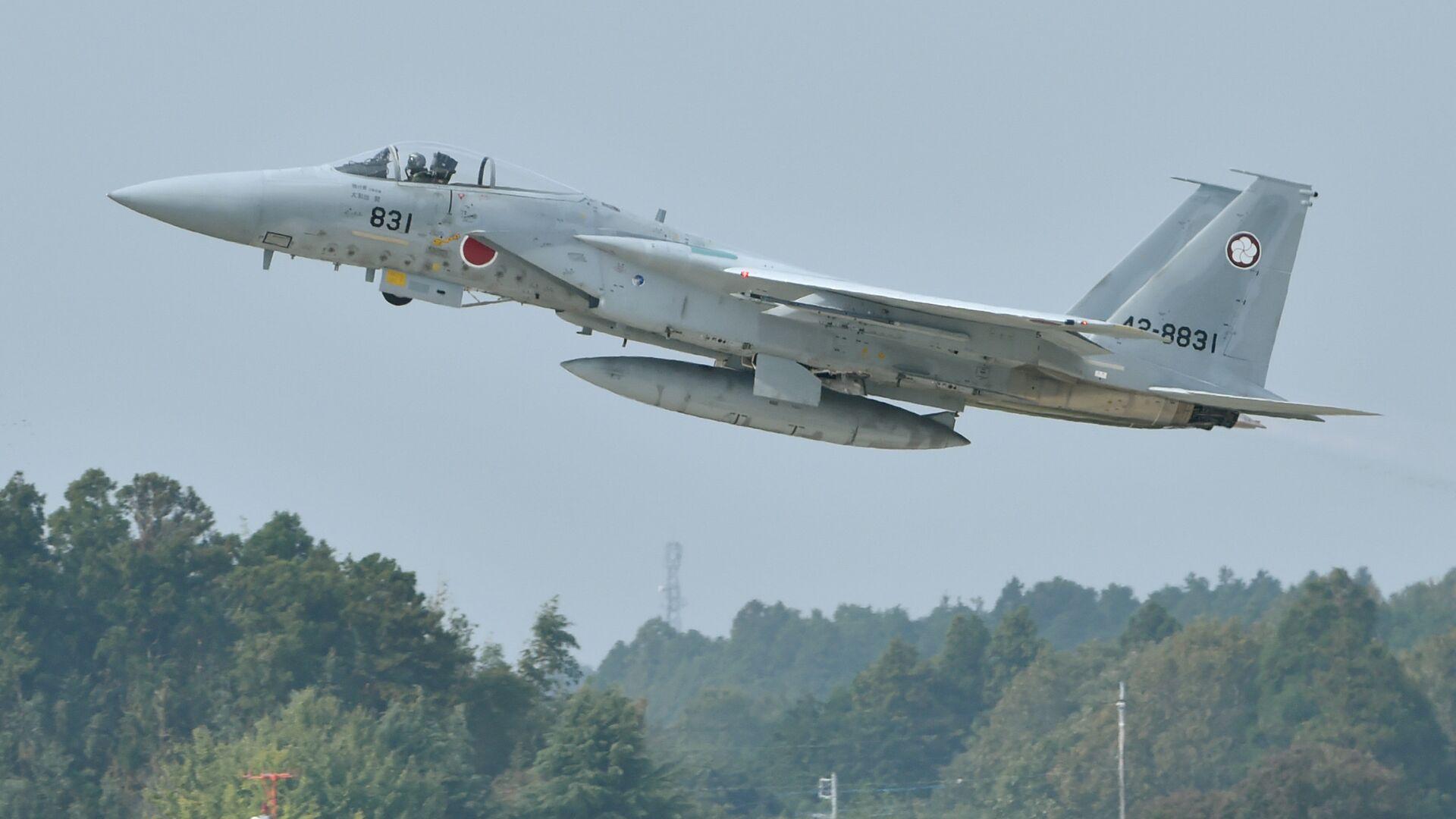 Máy bay chiến đấu F-15 của Nhật Bản  - Sputnik Việt Nam, 1920, 07.04.2021