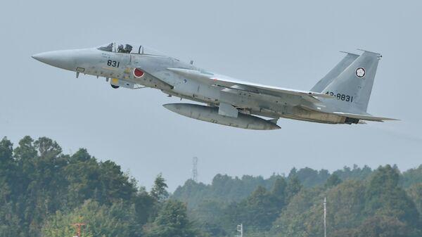 Máy bay chiến đấu F-15 của Nhật Bản  - Sputnik Việt Nam