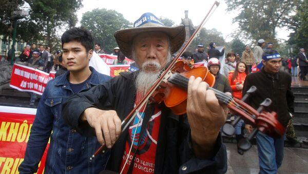 Việt Nam: An ninh dẹp cuộc biểu tình chống Trung Quốc - Sputnik Việt Nam