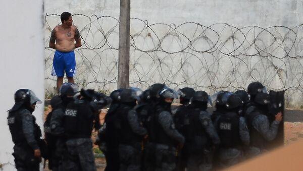 Tù nhân bạo loạn ở Brazil nướng thịt người - Sputnik Việt Nam