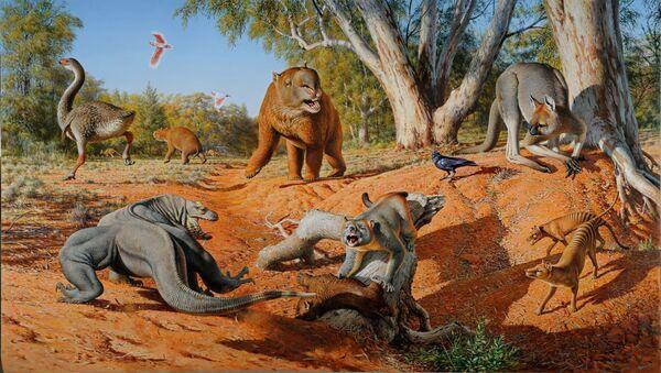động vật khổng lồ của Úc - Sputnik Việt Nam