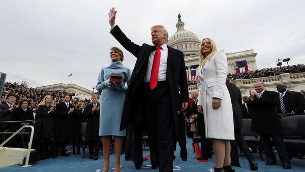 Nghi lễ nhậm chức trọng thể của Tổng thống Hoa Kỳ Donald Trump tại Washington - Sputnik Việt Nam