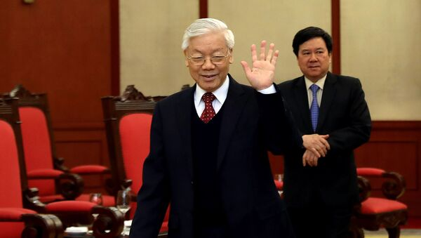 Tổng Bí thư ĐCS Việt Nam Nguyễn Phú Trọng - Sputnik Việt Nam