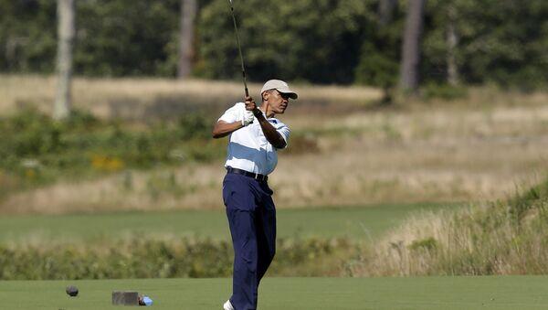 Obama đánh golf - Sputnik Việt Nam