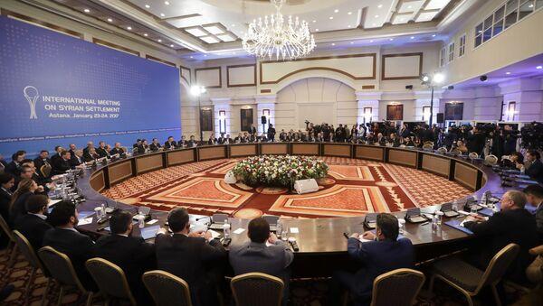 quá trình đàm phán về Syria tại Astana - Sputnik Việt Nam