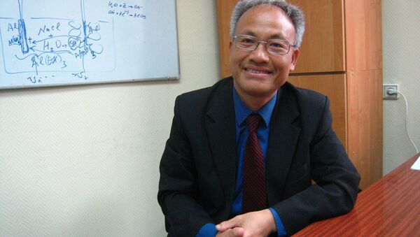 Giáo sư Nguyễn Quốc Sỹ - Sputnik Việt Nam