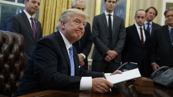 Tổng thống Donald Trump - Sputnik Việt Nam