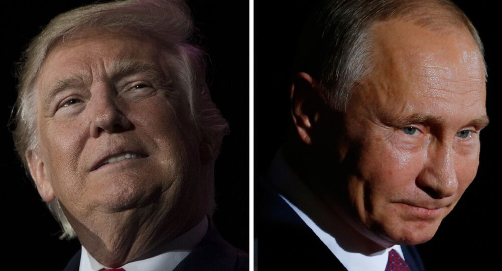 Donald Trump và Vladimir Putin